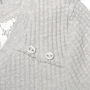 Anthropologie Dresses - Anthro Eloise Chiara Thermal Waffle Knit Dress